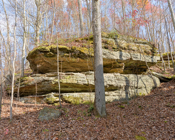 Ridge-top Outcrop 3, South-central Ohio