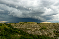 Storm over the Badlands, Little Missouri State Park, North Dakota